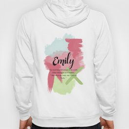 What's your name ? Emily Hoody