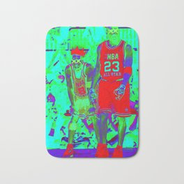IN LIVING COLOR KINGS UP Bath Mat