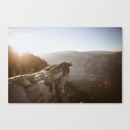 Cliff Canvas Print