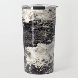 Black Ocean Riff Travel Mug
