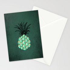 pineapple anatomy 4 Stationery Cards