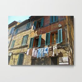 Via S. Caterina  Metal Print