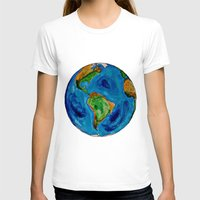 planet T-shirts featuring Planet by Edison Tezolin