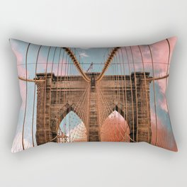 Brooklyn Bridge New York City Rectangular Pillow