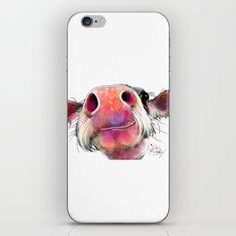 NoSeY CoW ' DuMPLiNG ' BY SHiRLeY MacARTHuR iPhone Skin
