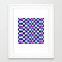blur Framed Art Prints featuring Blur by Aimee St Hill