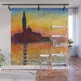 San Giorgio Maggiore at Dusk - Claude Monet Wall Mural