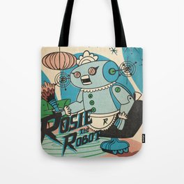 Rosie The Robot Tote Bag