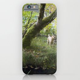 Maisie at the Pond iPhone Case