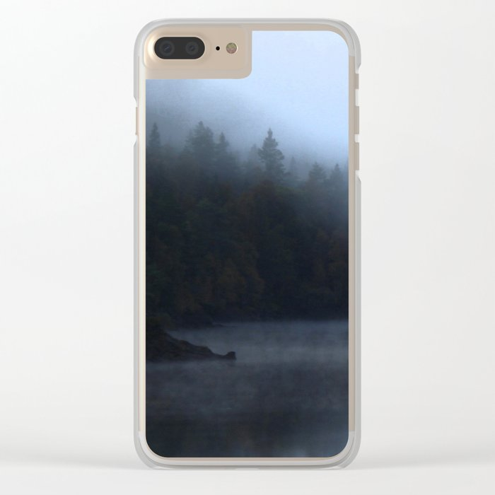 Reflections at Loch Affric Clear iPhone Case