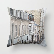 Montmartre, Paris. Throw Pillow