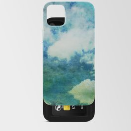 Partly cloudy iPhone Card Case