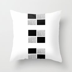 Blocks 3 Throw Pillow