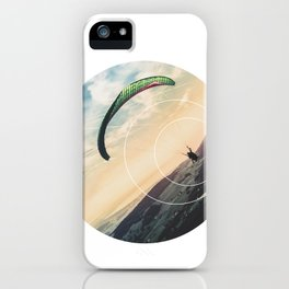 Skydive Gravity - Geometric Photography iPhone Case