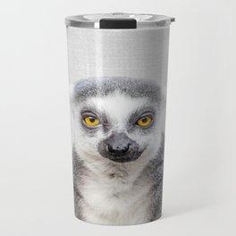 Lemur - Colorful Travel Mug