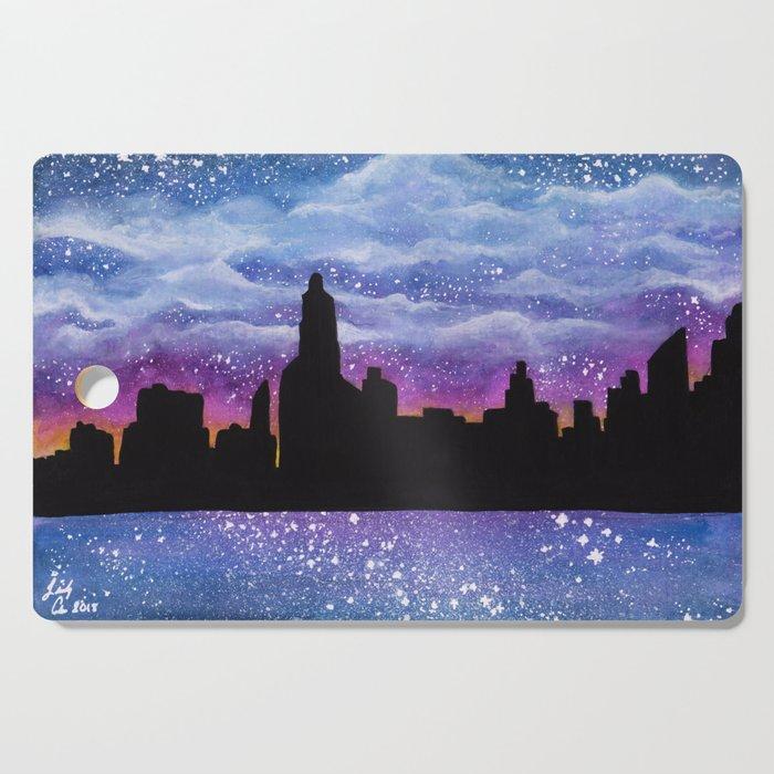 City of Stars Cutting Board