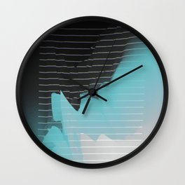 Not In Love Wall Clock