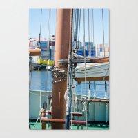 boat Canvas Prints featuring Boat by Sébastien BOUVIER