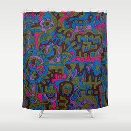 mimimops--11047ooo Shower Curtain