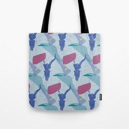 Pattern impala skull Tote Bag