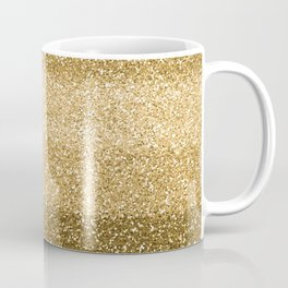 Glitter Glittery Copper Bronze Gold Coffee Mug