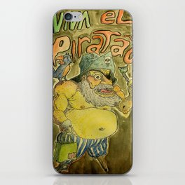 Viva el piratão iPhone Skin