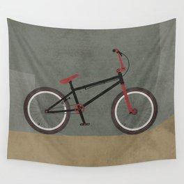 BMX Bike Wall Tapestry