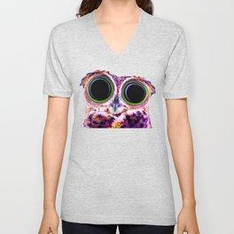 Electric Owl Unisex V-Neck
