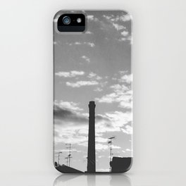 Black And White Chimney iPhone Case