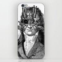 steampunk iPhone & iPod Skins featuring Steampunk by DIVIDUS