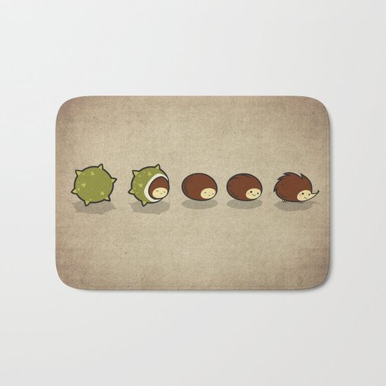 Let There Be Hedgehogs Bath Mat