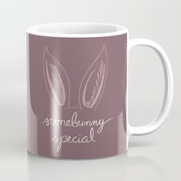 Some Bunny Special in Purple Coffee Mug