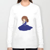 ouat Long Sleeve T-shirts featuring OUAT - Belle by Choco-Minto