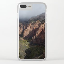 Angel's Beer Clear iPhone Case