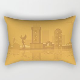 I Love Wichita Rectangular Pillow