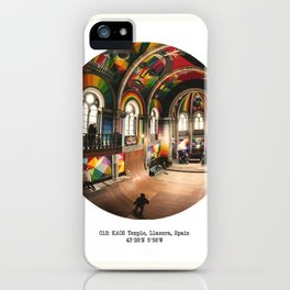 012: KAOS Temple, Spain iPhone Case