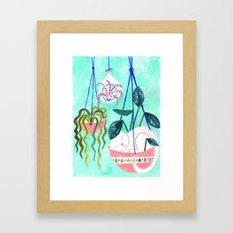 Hanging Gardens Framed Art Print