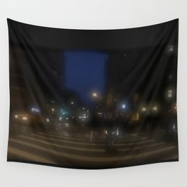 City Lights Wall Tapestry