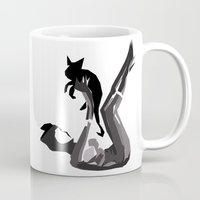 catwoman Mugs featuring Catwoman by BatSpats