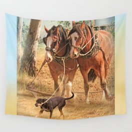 If You Want The Job Done Wall Tapestry