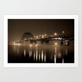 Tacony Bridge Art Print