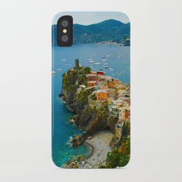 Vernazza Italy - Italian Riviera iPhone Case