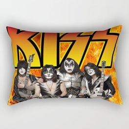 Kiss band Rectangular Pillow