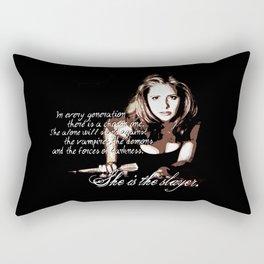 Buffy The Vampire Slayer Rectangular Pillow
