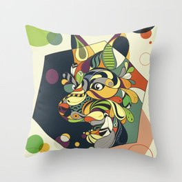 SOHO Collection-Fox Throw Pillow