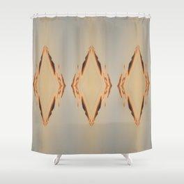 Fire Diamonds Shower Curtain