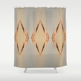 Fire Diamonds Shower Curtain