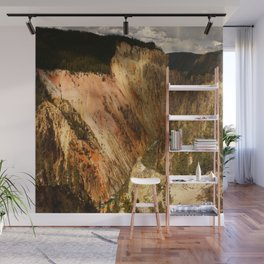 Yellow Rocks Of The Yellowstone Valley Wall Mural