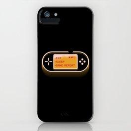 Retro Joystick Gaming Design iPhone Case