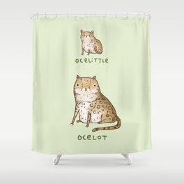 Ocelittle Ocelot Shower Curtain
